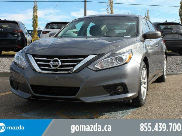 2017 NISSAN ALTIMA S BACK UP CAMERA PUSH BUTTON START POWER OPTIONS ACCIDENT FREE in Edmonton, Alberta