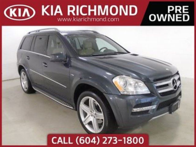 2012 MERCEDES-BENZ GL-CLASS GL 350 BlueTEC in Richmond, British Columbia