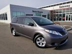 2017 Toyota Sienna 5DR LE 8-PASS FWD Backup Cam, Power Sliding Doors, Bluetooth, Sunshades in Edmonton, Alberta