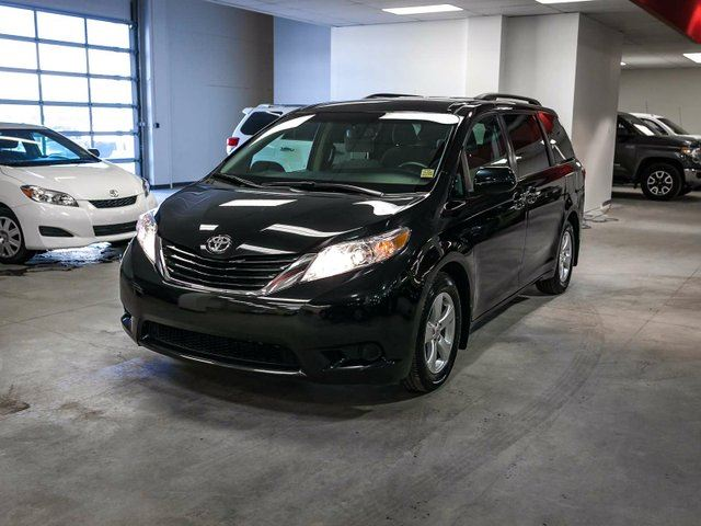 2016 TOYOTA SIENNA LE, HEATED SEATS, TOUCH SCREEN, BACK UP CAMERA, ALLOY RIMS, BLUETOOTH, 8 PASSENGER in Edmonton, Alberta