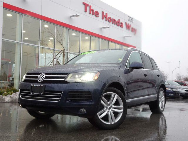 2013 VOLKSWAGEN TOUAREG TDI in Abbotsford, British Columbia