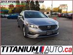 2015 Hyundai Sonata Limited+GPS+Camera+Blind Spot & Collision Warning+ in London, Ontario