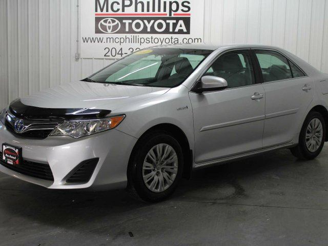 2012 TOYOTA CAMRY Hybrid 4DR SDN LE in Winnipeg, Manitoba