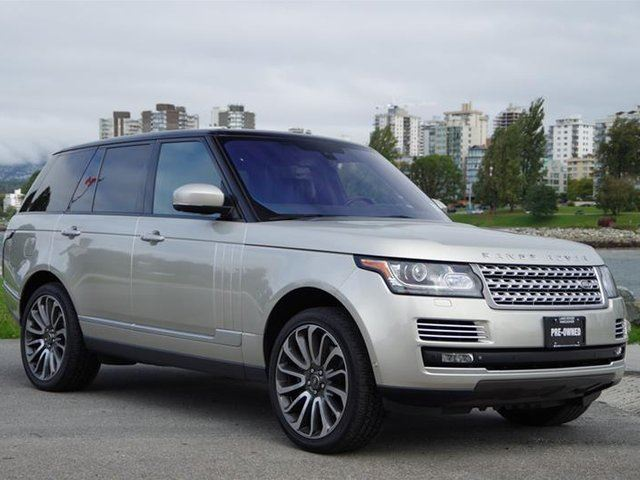 2014 LAND ROVER RANGE ROVER V8 Autobiography (2) in Vancouver, British Columbia