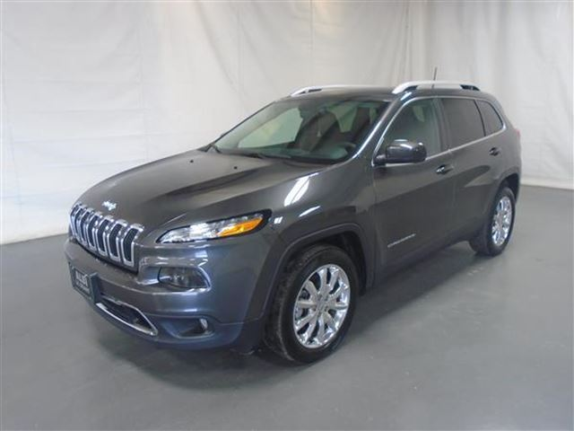 2017 JEEP CHEROKEE LIMITED CUIR NAV in Mascouche, Quebec