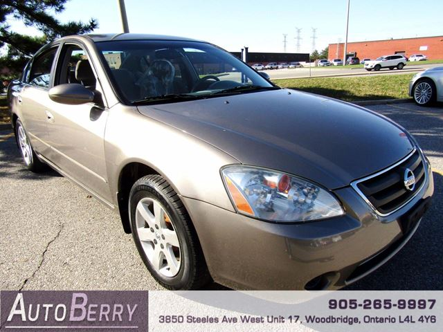 2004 NISSAN ALTIMA 2.5 S - FWD in Woodbridge, Ontario