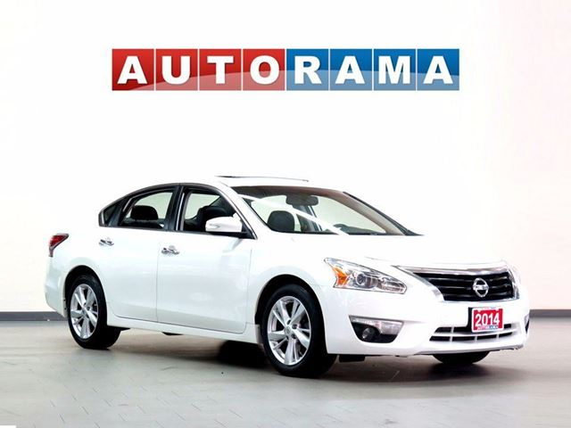 2014 NISSAN ALTIMA TECH PKG NAVI LEATHER SUNROOF BACKUP in North York, Ontario
