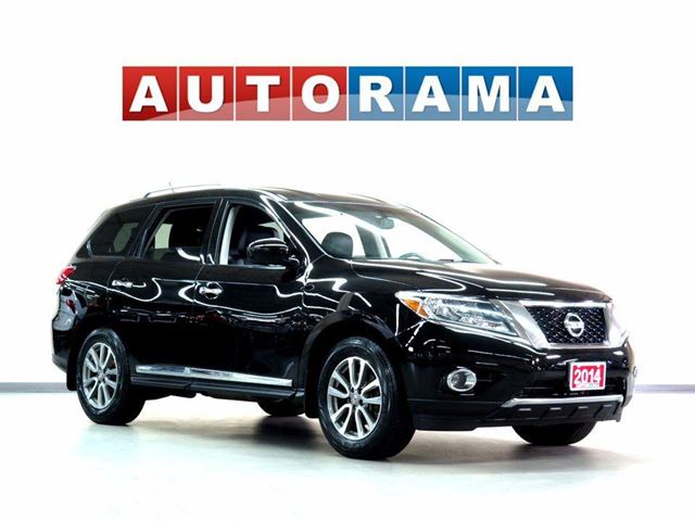 2014 NISSAN PATHFINDER SL LEATHER 7 PASS 4WD BACKUP CAM in North York, Ontario