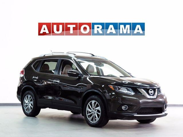 2014 NISSAN ROGUE SL NAV LEATHER SUNROOF 4WD BACKUP CAM in North York, Ontario
