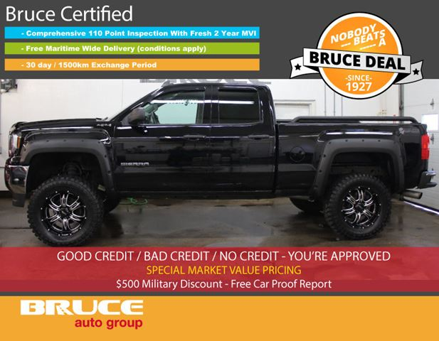 2016 GMC Sierra 1500 5.3L 8 CYL AUTOMATIC 4X4 EXTENDED CAB in Middleton, Nova Scotia