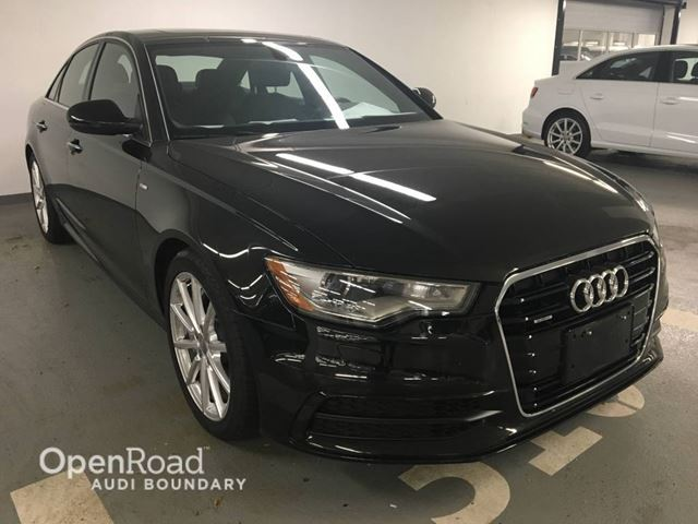 2015 AUDI A6 4dr Sdn quattro 3.0T Technik S Line Sport Packa in Vancouver, British Columbia