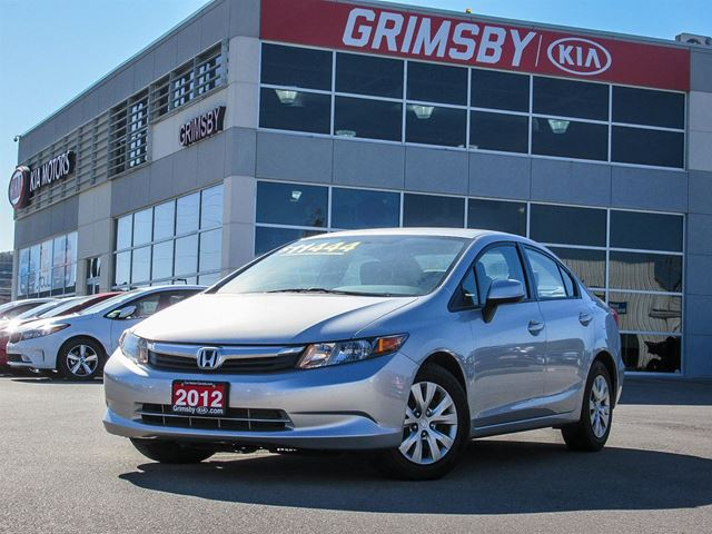 2012 HONDA CIVIC IT'S YOUR CIVIC DUTY TO DRIVE THIS CAR!!! in Grimsby, Ontario