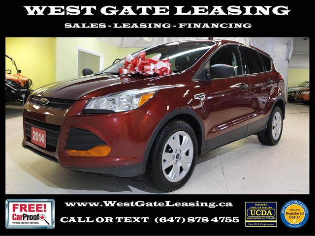 2014 FORD Escape  BACK UP CAMERA  CERTIFIED   in Vaughan, Ontario
