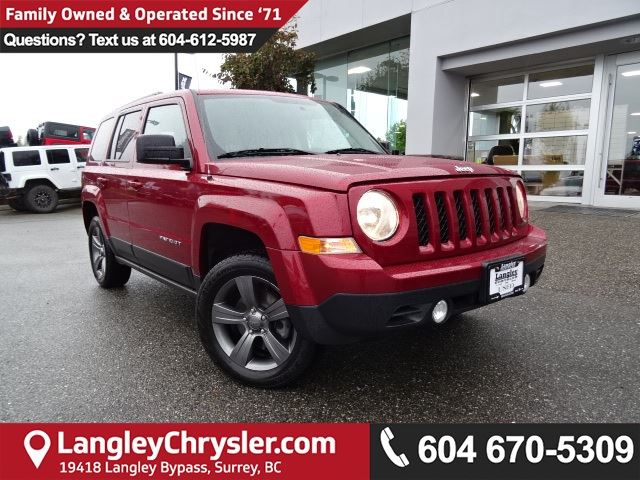2015 JEEP PATRIOT *ACCIDENT FREE*ONE OWNER*LOCAL BC JEEP* in Surrey, British Columbia