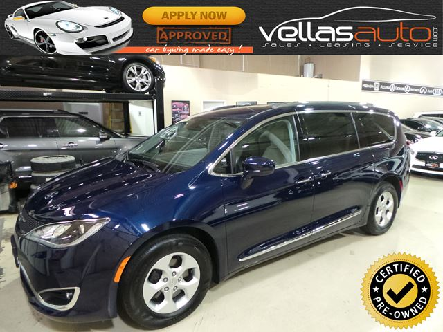 2017 CHRYSLER PACIFICA Touring-L Plus TOURING-L PLUS| NAVI| PDOORS| LEATHER in Vaughan, Ontario