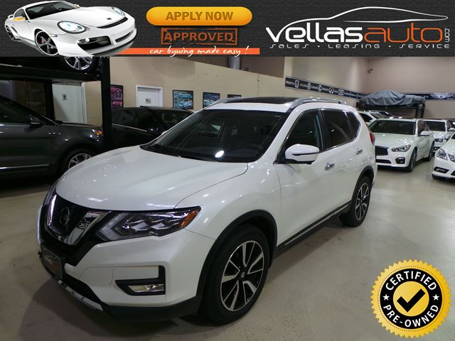 2017 NISSAN ROGUE SL Platinum SL PLATINUM| AWD| PEARL WHITE in Vaughan, Ontario