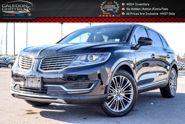 2016 LINCOLN MKX Reserve AWD Navi Pano Sunroof Backup Cam Bluetooth R-Start 18Alloy Rims in Bolton, Ontario