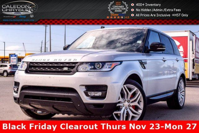 2014 LAND ROVER RANGE ROVER Sport V8 SC Autobiography Dynamic 4x4 Navi Pano sunroof Backup Cam Bluetooth 21Alloy Rims in Bolton, Ontario
