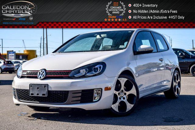 2010 VOLKSWAGEN GOLF GTI Sunroof Heated Front Seats Leather Keyless entry 17Alloy Rims in Bolton, Ontario