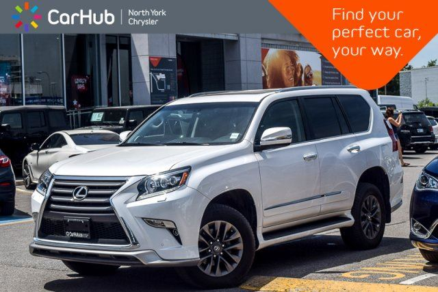 2017 LEXUS GX 460 4x4 Sunroof AirSusp. Nav Heat Seats Keyless_Go 18Alloys in Thornhill, Ontario