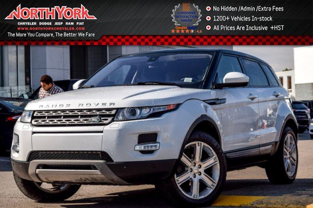 2015 LAND ROVER RANGE ROVER EVOQUE Pure Plus in Thornhill, Ontario