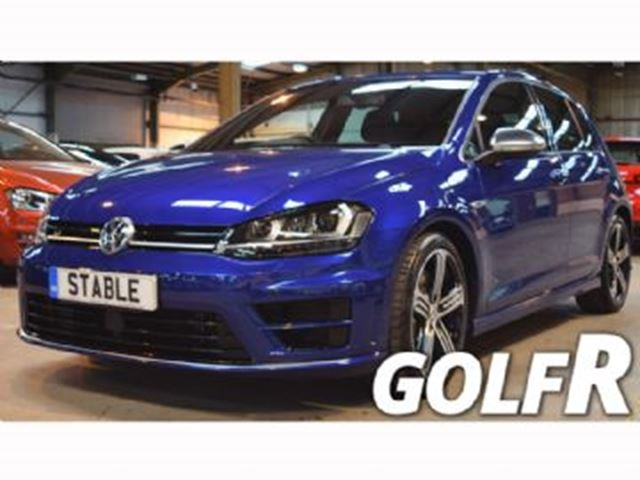 2016 VOLKSWAGEN R32 2.0 TSI, 6-Speed Manual 4MOTION, Tech + Leather Packages in Mississauga, Ontario