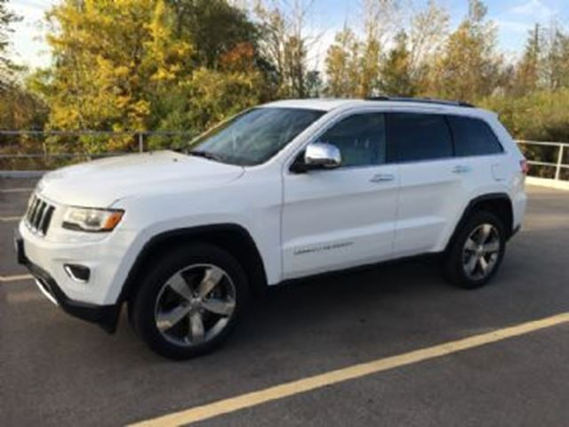 2015 JEEP GRAND CHEROKEE 4WD Limited  ~ FLEXIBLE LEASE~ in Mississauga, Ontario