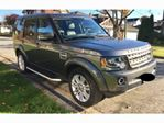 2016 Land Rover LR4 4WD w/HSE LUX Package in Mississauga, Ontario