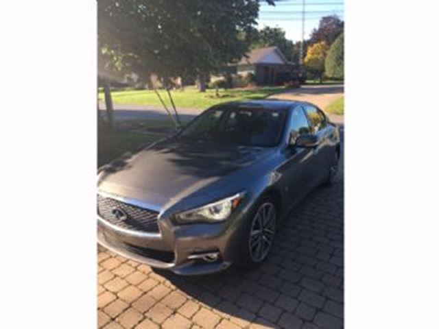 2015 INFINITI Q50 Limited AWD 3.7L V6  in Mississauga, Ontario