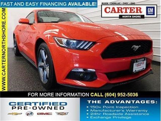 2015 FORD MUSTANG V6 in North Vancouver, British Columbia