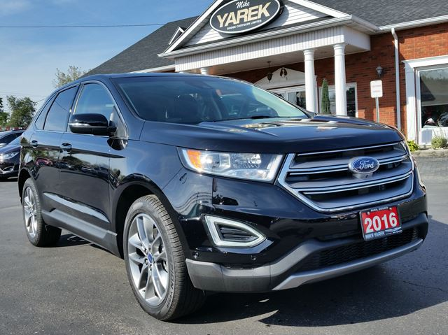 2016 ford edge titanium awd pano sunrrof heated cooled seats nav parking assist remote. Black Bedroom Furniture Sets. Home Design Ideas