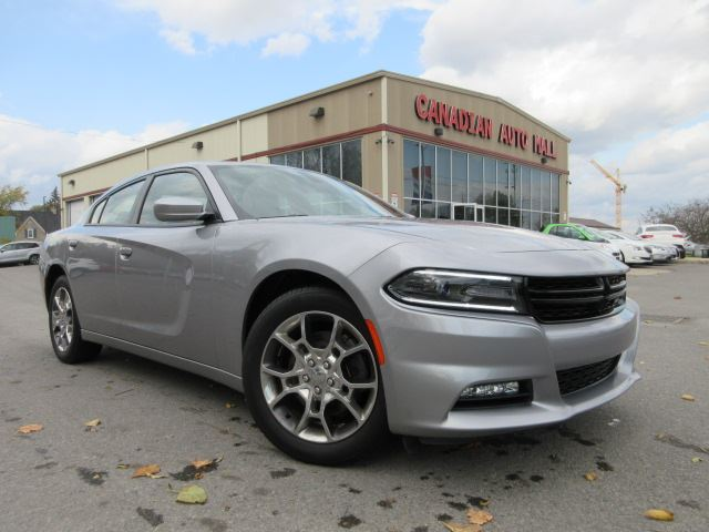 2016 Dodge Charger ALL WHEEL DRIVE, NAV, ROOF, 26K! in Stittsville, Ontario