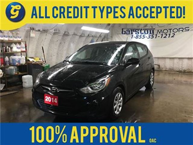 2014 HYUNDAI ACCENT GS*HEATED FRONT SEATS*PHONE CONNECT*CLIMATE CONTRO in Cambridge, Ontario
