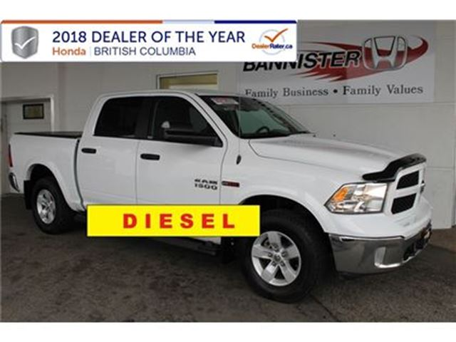 2016 DODGE RAM 1500 Outdoorsman in Vernon, British Columbia