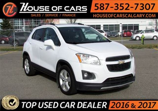 2013 CHEVROLET TRAX LTZ/ AWD / Leather / Back up Camera / Sunroof in Calgary, Alberta