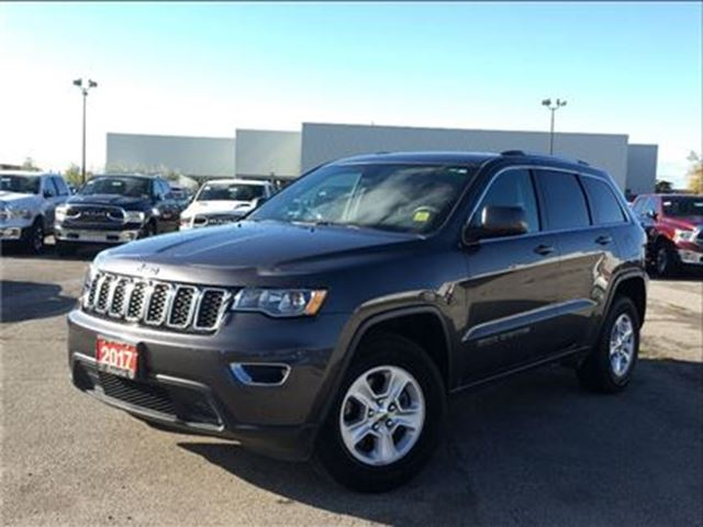 2017 JEEP GRAND CHEROKEE LAREDO**BACK UP CAM**BLUETOOTH**5.0 TOUCHSCREEN** in Mississauga, Ontario