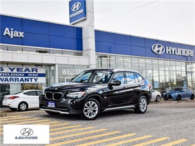 2012 BMW X1 *xDrive28i Pano Sunroof Heated Front Seats in Ajax, Ontario
