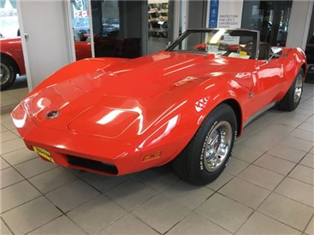 1974 CHEVROLET CORVETTE 4 Speed Manual, L-48 in Burlington, Ontario