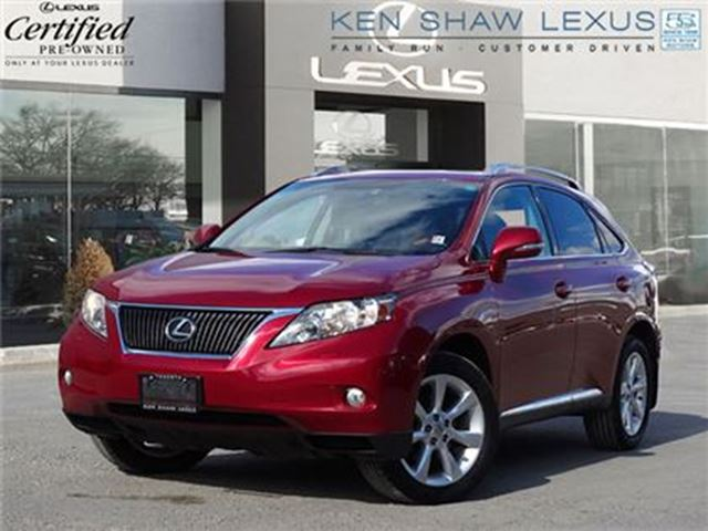 2010 LEXUS RX 350 ** Navigation ** Clean Car proof ** in Toronto, Ontario