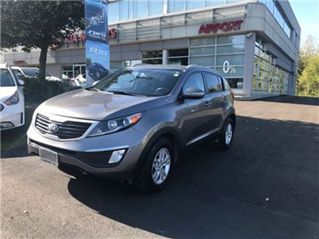 2013 KIA SPORTAGE LX/AUTO/AIR/HTD SEATS/HANDS FREE/AUX & USB/ALLOYS in Mississauga, Ontario