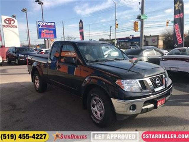 2011 NISSAN FRONTIER S KING CAB 2WD in London, Ontario