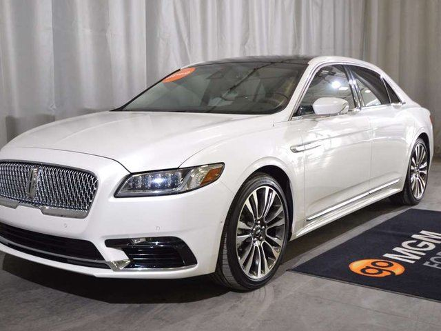 2017 LINCOLN CONTINENTAL Reserve in Red Deer, Alberta