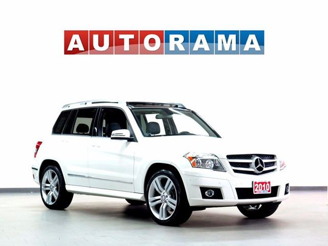 2010 MERCEDES-BENZ GLK-Class GLK350 LEATHER PANORAMIC  SUNROOF 4WD in North York, Ontario