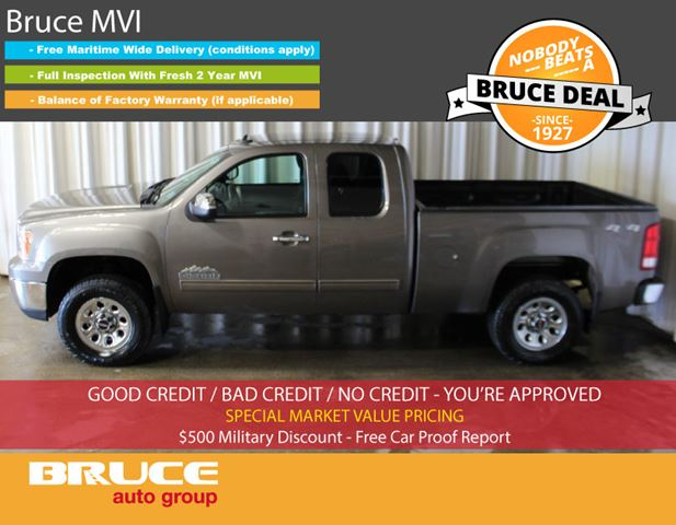 2012 GMC Sierra 1500 SL 4.8L 8 CYL AUTOMATIC 4X4 EXTENDED CAB in Middleton, Nova Scotia