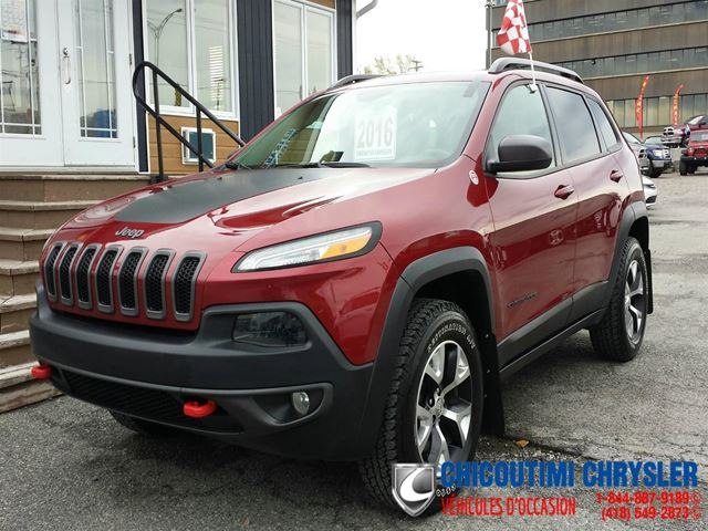 2016 Jeep Cherokee Trailhawk 2016 PLAN OR in Chicoutimi, Quebec