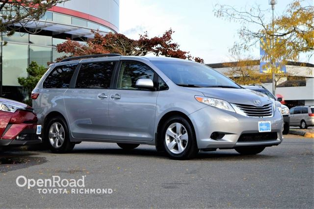 2015 TOYOTA SIENNA LE in Richmond, British Columbia
