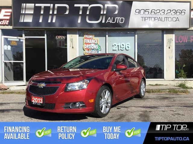 2013 CHEVROLET CRUZE LT Turbo ** RS, Nav, Leather, Sunroof, Loaded ** in Bowmanville, Ontario