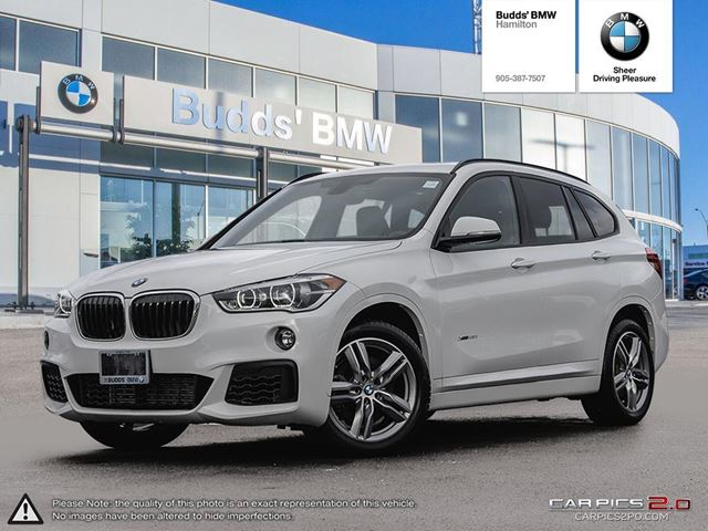 2018 Bmw X1 Xdrive28i White Budds Bmw Hamilton Wheels Ca