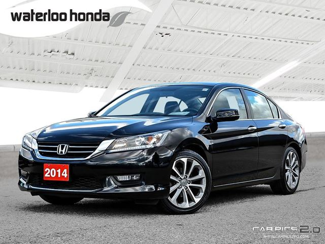 2014 HONDA ACCORD Sport Bluetooth, Back Up Camera, Heated Seats and more! in Waterloo, Ontario