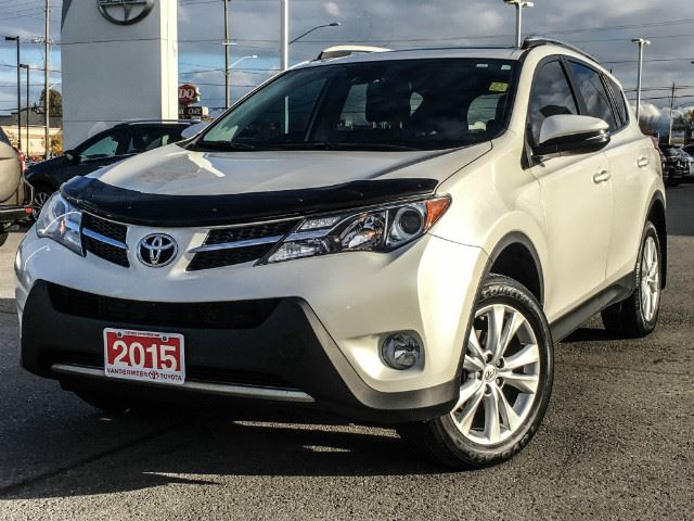 2015 Toyota RAV4 Limited LIMITED+XTRA WARRANTY-2020! in Cobourg, Ontario
